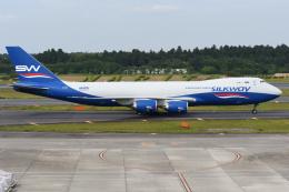sky77さんが、成田国際空港で撮影したシルクウェイ・ウェスト・エアラインズ 747-83QFの航空フォト(飛行機 写真・画像)