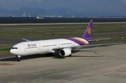 フッ軽の極美さんが、中部国際空港で撮影したタイ国際航空 777-3D7の航空フォト(飛行機 写真・画像)