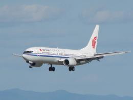 C.B.Airwaysさんが、仙台空港で撮影した中国国際航空 737-86Nの航空フォト(飛行機 写真・画像)