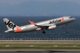 フッ軽の極美さんが、中部国際空港で撮影したジェットスター・ジャパン A320-232の航空フォト(飛行機 写真・画像)