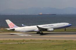 フッ軽の極美さんが、中部国際空港で撮影したチャイナエアライン A330-302の航空フォト(飛行機 写真・画像)