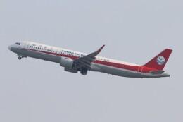 青春の1ページさんが、関西国際空港で撮影した四川航空 A321-271Nの航空フォト(飛行機 写真・画像)