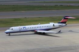 フッ軽の極美さんが、中部国際空港で撮影したアイベックスエアラインズ CL-600-2C10(CRJ-702ER)の航空フォト(飛行機 写真・画像)