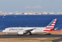 チャーリーマイクさんが、羽田空港で撮影したアメリカン航空 787-8 Dreamlinerの航空フォト(飛行機 写真・画像)