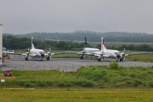 kuraykiさんが、能登空港で撮影した日本航空学園 YS-11A-500の航空フォト(飛行機 写真・画像)