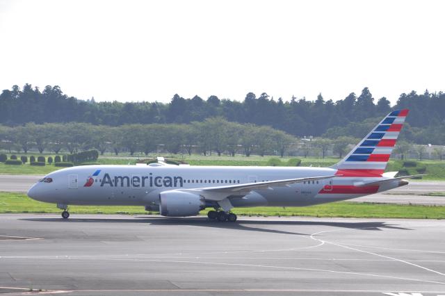 チャーリーマイクさんが、成田国際空港で撮影したアメリカン航空 787-8 Dreamlinerの航空フォト(飛行機 写真・画像)