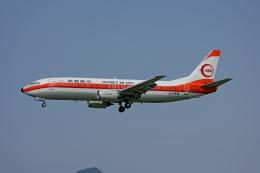 tsubameさんが、福岡空港で撮影した日本トランスオーシャン航空 737-446の航空フォト(飛行機 写真・画像)