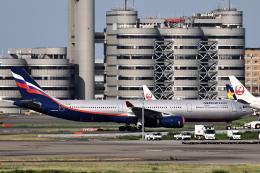 juntamiさんが、羽田空港で撮影したアエロフロート・ロシア航空 A330-343Xの航空フォト(飛行機 写真・画像)