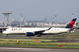 juntamiさんが、羽田空港で撮影したデルタ航空 A350-941の航空フォト(飛行機 写真・画像)