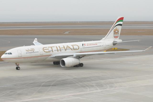 jun☆さんが、中部国際空港で撮影したエティハド航空 A330-243の航空フォト(飛行機 写真・画像)