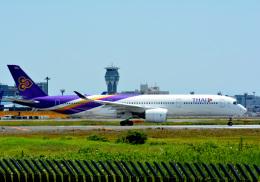 アルビレオさんが、成田国際空港で撮影したタイ国際航空 A350-941の航空フォト(飛行機 写真・画像)