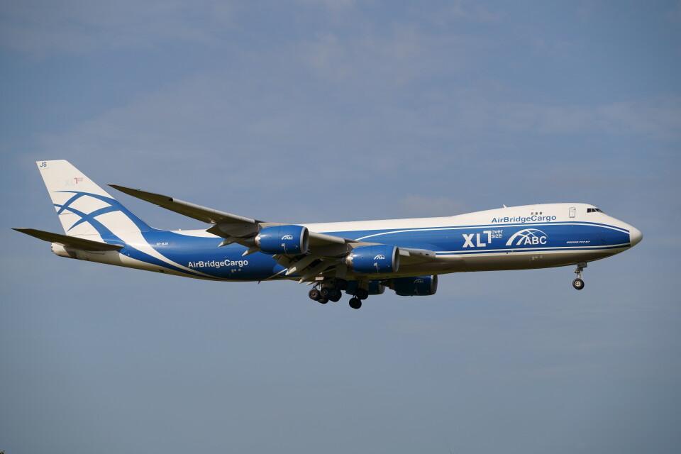 IMP.TIさんのエアブリッジ・カーゴ・エアラインズ Boeing 747-8 (VP-BJS) 航空フォト