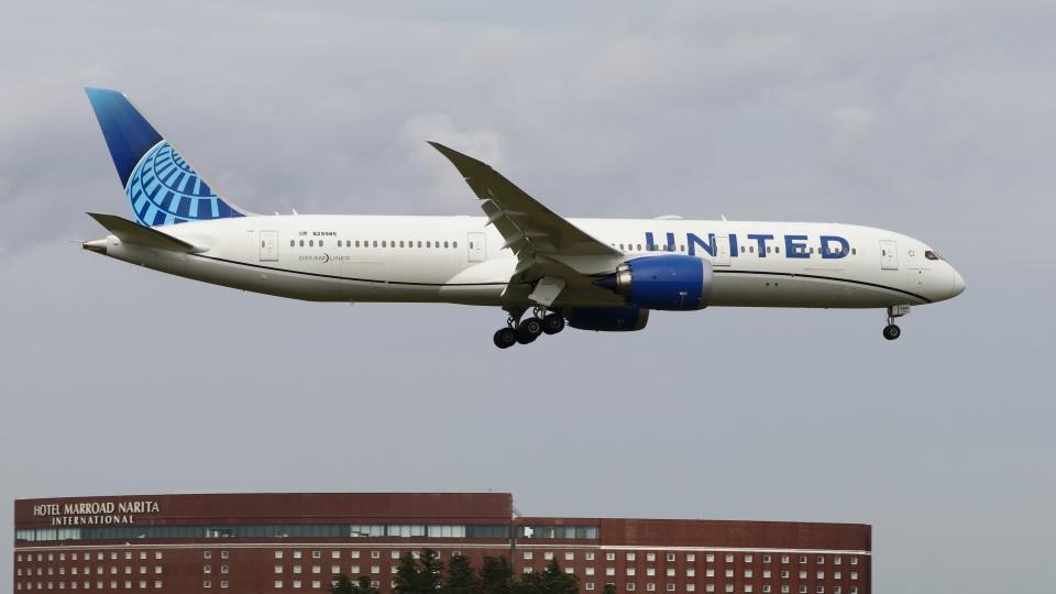 raichanさんのユナイテッド航空 Boeing 787-9 (N29985) 航空フォト
