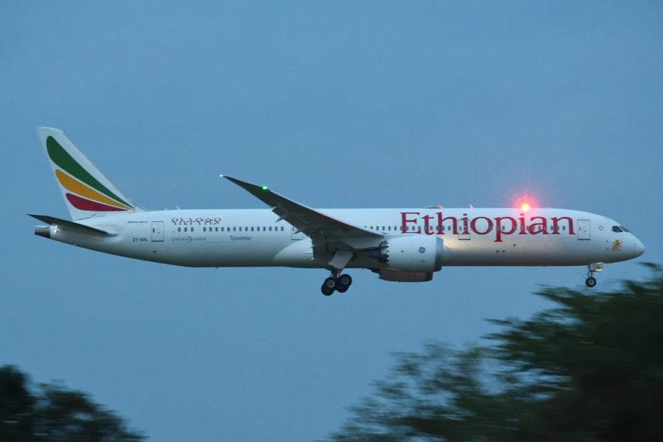 木人さんのエチオピア航空 Boeing 787-9 (ET-AXL) 航空フォト