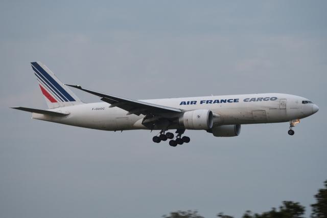 木人さんが、成田国際空港で撮影したエールフランス航空 777-F28の航空フォト(飛行機 写真・画像)