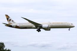 kinsanさんが、成田国際空港で撮影したエティハド航空 787-10の航空フォト(飛行機 写真・画像)