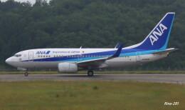 RINA-281さんが、能登空港で撮影した全日空 737-781の航空フォト(飛行機 写真・画像)