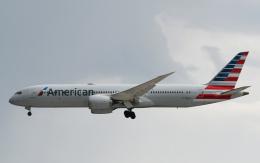 チャーリーマイクさんが、成田国際空港で撮影したアメリカン航空 787-9の航空フォト(飛行機 写真・画像)