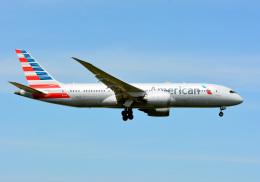 アルビレオさんが、成田国際空港で撮影したアメリカン航空 787-8 Dreamlinerの航空フォト(飛行機 写真・画像)