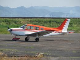 F.YUKIHIDEさんが、岡南飛行場で撮影した日本法人所有 PA-28-151 Cherokee Warriorの航空フォト(飛行機 写真・画像)