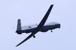 MH-38Rさんが、三沢飛行場で撮影したアメリカ海軍 MQ-4C Tritonの航空フォト(飛行機 写真・画像)