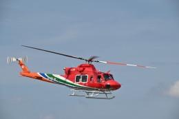 蒼い鳩さんが、松本空港で撮影した長野県消防防災航空隊 412EPIの航空フォト(飛行機 写真・画像)
