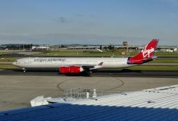 TA27さんが、シドニー国際空港で撮影したヴァージン・アトランティック航空 A340-642の航空フォト(飛行機 写真・画像)