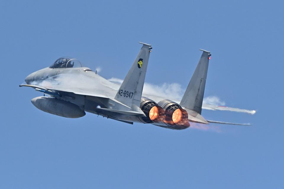 フォト太郎さんの航空自衛隊 Mitsubishi F-15J Eagle (42-8947) 航空フォト