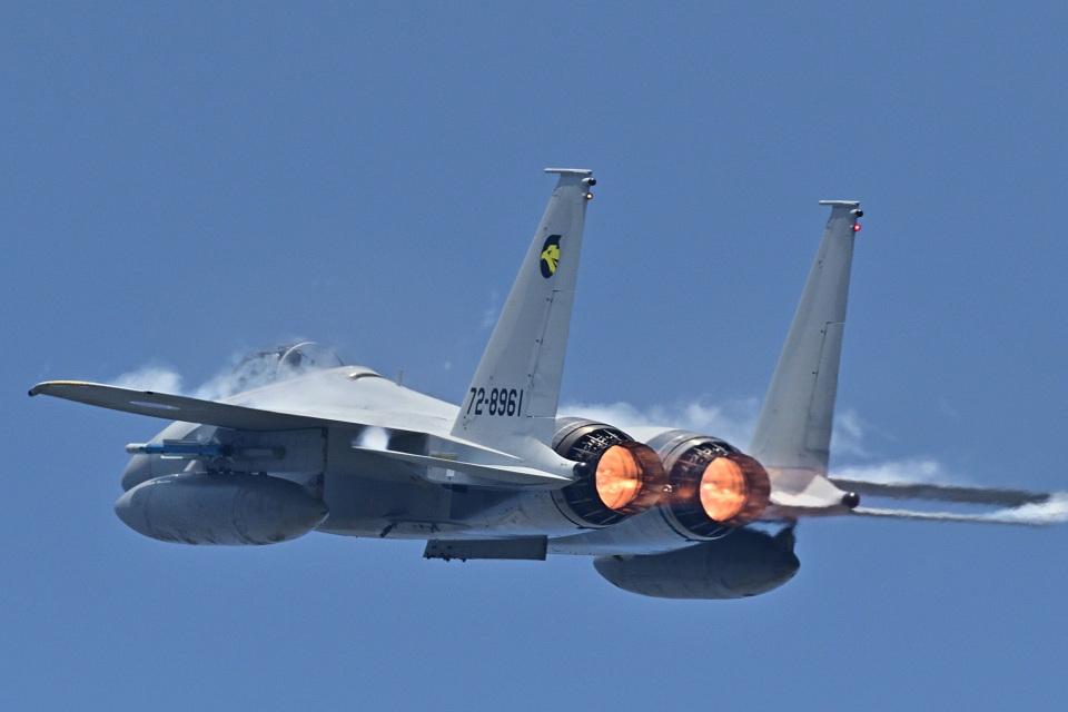 フォト太郎さんの航空自衛隊 Mitsubishi F-15J Eagle (72-8961) 航空フォト