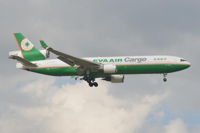 Deepさんが、成田国際空港で撮影したエバー航空 MD-11Fの航空フォト(飛行機 写真・画像)