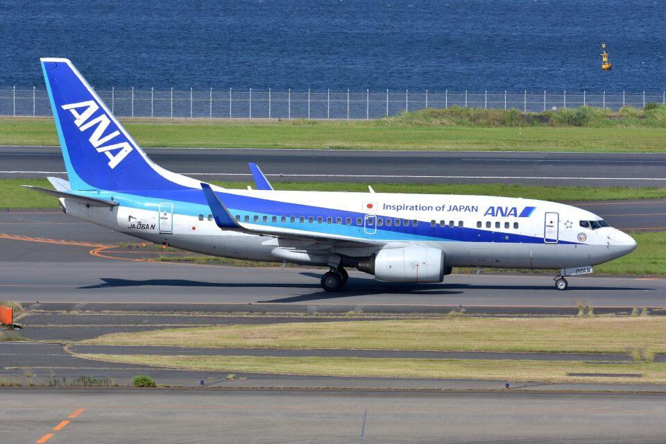 サンドバンクさんの全日空 Boeing 737-700 (JA06AN) 航空フォト