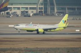 磐城さんが、仁川国際空港で撮影したジンエアー 737-8B5の航空フォト(飛行機 写真・画像)