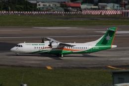 磐城さんが、台北松山空港で撮影した立栄航空 ATR-72-600の航空フォト(飛行機 写真・画像)