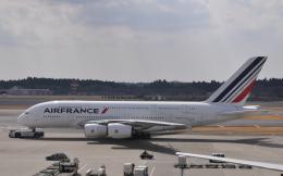 チャーリーマイクさんが、成田国際空港で撮影したエールフランス航空 A380-861の航空フォト(飛行機 写真・画像)