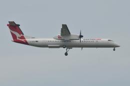 Deepさんが、成田国際空港で撮影したボンバルディア DHC-8-402Q Dash 8の航空フォト(飛行機 写真・画像)