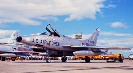 Y.Todaさんが、松島基地で撮影したアメリカ空軍 F-100D Super Sabreの航空フォト(飛行機 写真・画像)
