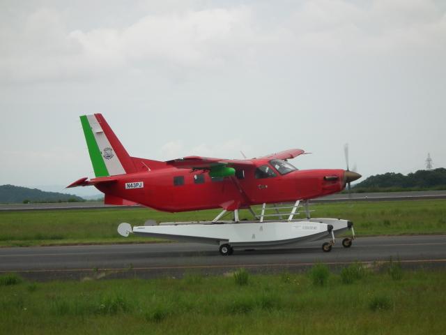 ヒコーキグモさんが、岡山空港で撮影したクエスト・エアクラフト・カンパニー Kodiak 100の航空フォト(飛行機 写真・画像)