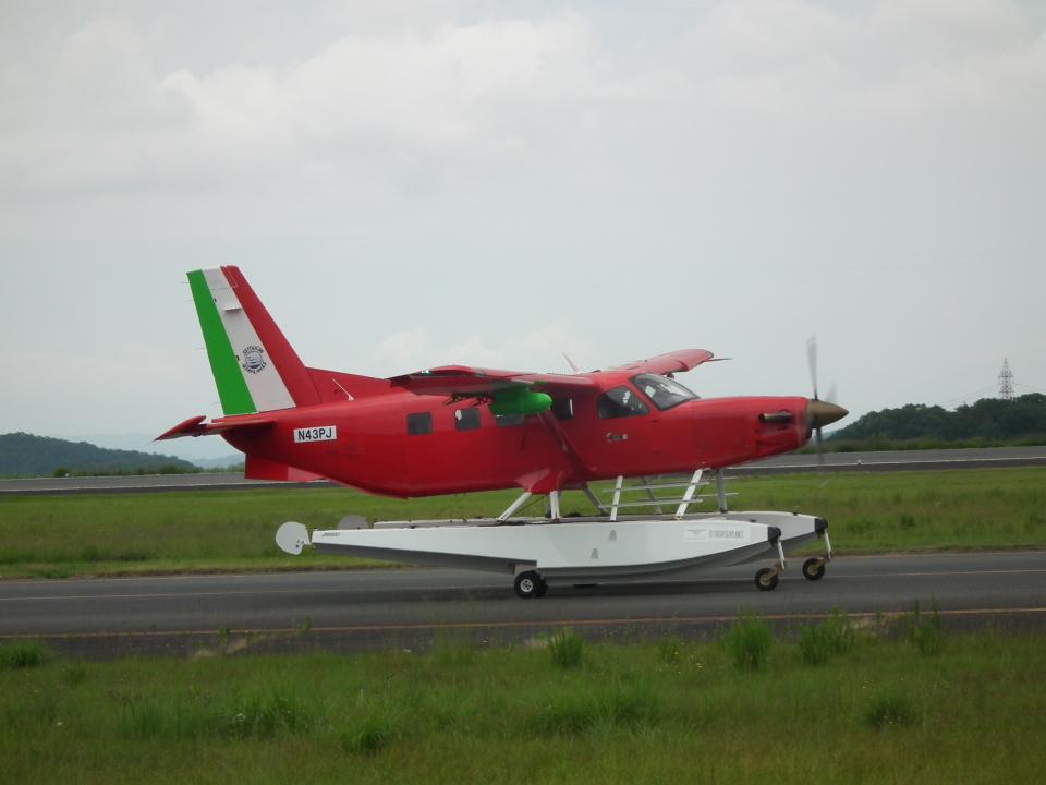ヒコーキグモさんのクエスト・エアクラフト・カンパニー Quest Kodiak (N43PJ) 航空フォト