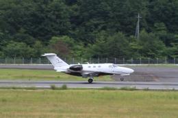 LEVEL789さんが、岡山空港で撮影した岡山航空 510 Citation Mustangの航空フォト(飛行機 写真・画像)