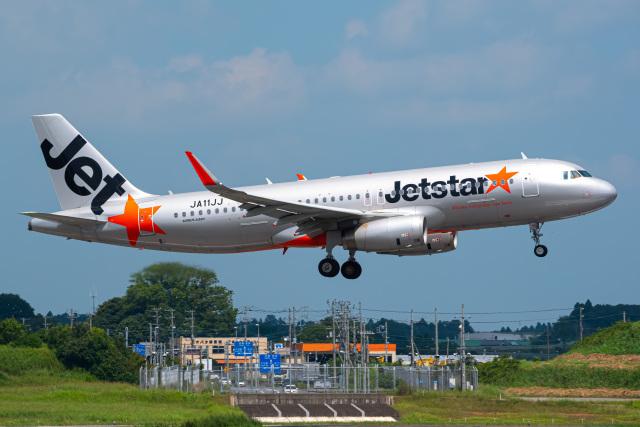K.Tatsuyaさんが、成田国際空港で撮影したジェットスター・ジャパン A320-232の航空フォト(飛行機 写真・画像)