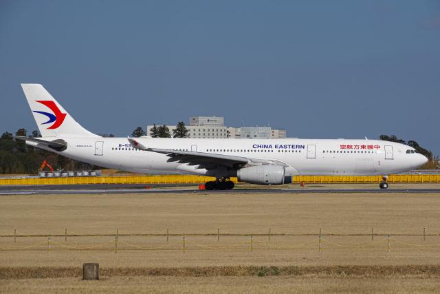 K.Tatsuyaさんが、成田国際空港で撮影した中国東方航空 A330-343Xの航空フォト(飛行機 写真・画像)