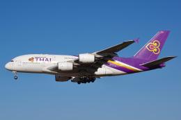 K.Tatsuyaさんが、成田国際空港で撮影したタイ国際航空 A380-841の航空フォト(飛行機 写真・画像)