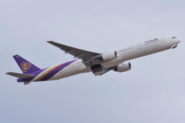 K.Tatsuyaさんが、成田国際空港で撮影したタイ国際航空 777-3D7の航空フォト(飛行機 写真・画像)
