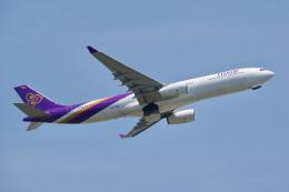 K.Tatsuyaさんが、成田国際空港で撮影したタイ国際航空 A330-343Xの航空フォト(飛行機 写真・画像)
