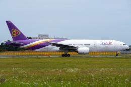 K.Tatsuyaさんが、成田国際空港で撮影したタイ国際航空 777-2D7/ERの航空フォト(飛行機 写真・画像)