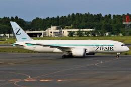 航空フォト:JA822J ZIPAIR 787-8 Dreamliner