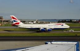 TA27さんが、シドニー国際空港で撮影したブリティッシュ・エアウェイズ 747-436の航空フォト(飛行機 写真・画像)