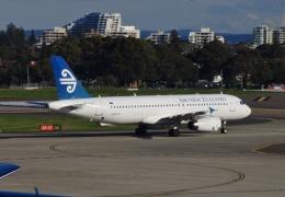 TA27さんが、シドニー国際空港で撮影したニュージーランド航空 A320-232の航空フォト(飛行機 写真・画像)