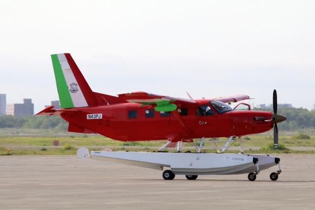 北の熊さんが、新千歳空港で撮影したせとうちSEAPLANES Kodiak 100の航空フォト(飛行機 写真・画像)
