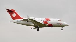 flytaka78さんが、成田国際空港で撮影したREGA スイスエア-アンビュランス CL-600-2B16 Challenger 650の航空フォト(飛行機 写真・画像)